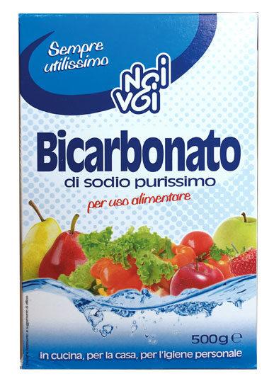 Bicarbonato di sodio purissimo 500 g