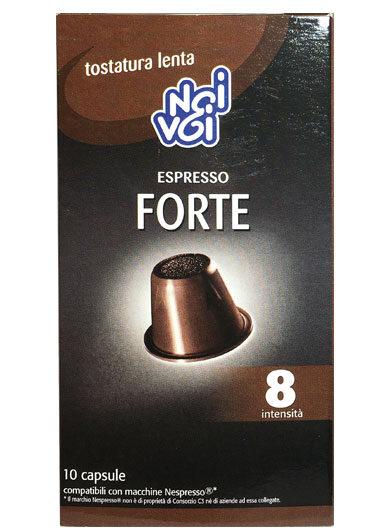 Espresso Forte intensità 8 10 Capsule 50g