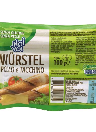Würstel Pollo e Tacchino 4 x 100 g