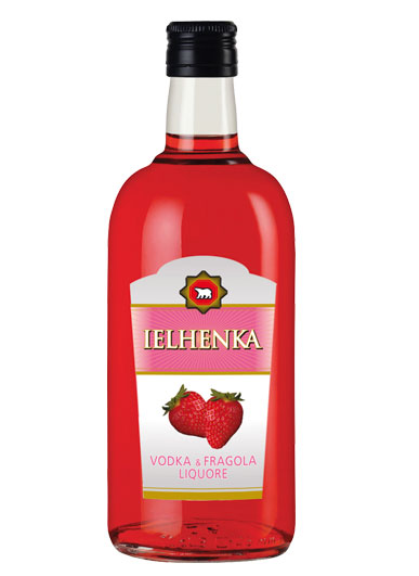 Ielhenka Vodka & Fragola 70 cl