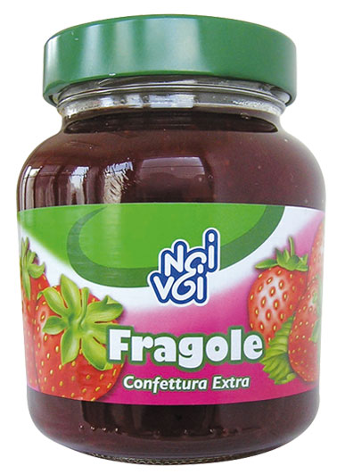 Confettura Extra di Fragole 370 g