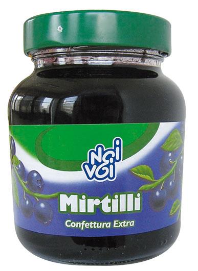 Confettura Extra di Mirtilli 370 g
