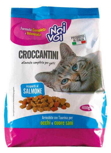 Croccantini insaporiti al Salmone 400 g