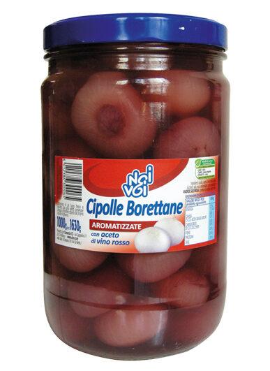 Cipolle Borettane aromatizzate con aceto di vino 1630 g