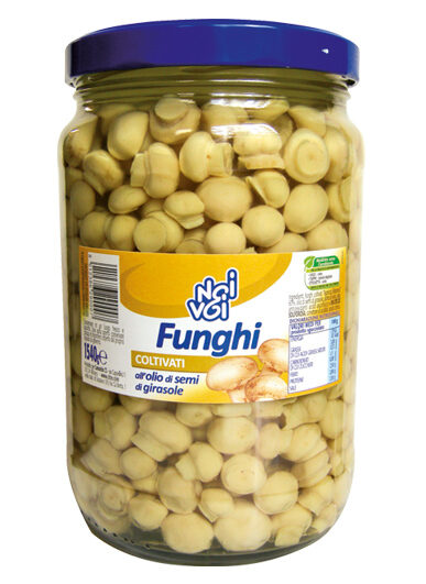 Funghi coltivati all'olio di semi di girasole 1540 g