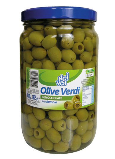 Olive verdi denocciolate in salamoia 1675 g