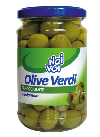 Olive verdi denocciolate in salamoia 300 g /314 ml