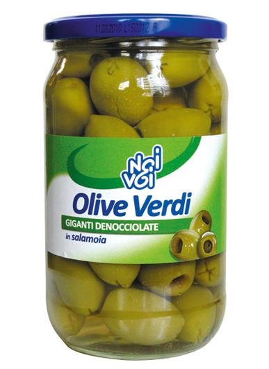 Olive Verdi giganti den 580 ml