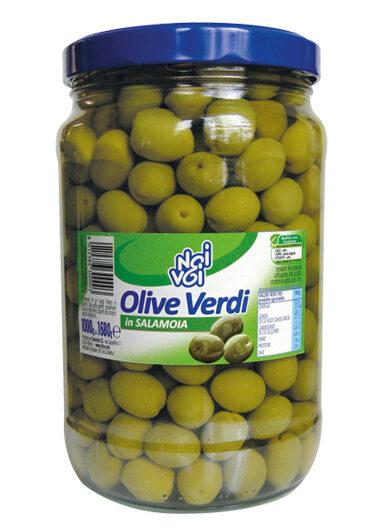 Olive verdi in salamoia 1680 g