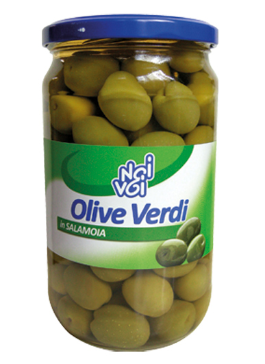 Olive verdi in salamoia 565 g /580 ml
