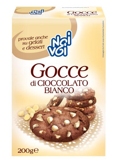 Gocce Cioccolato Bianco 200 g