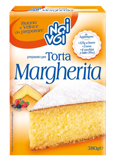 Preparato Torta Margherita 380 g