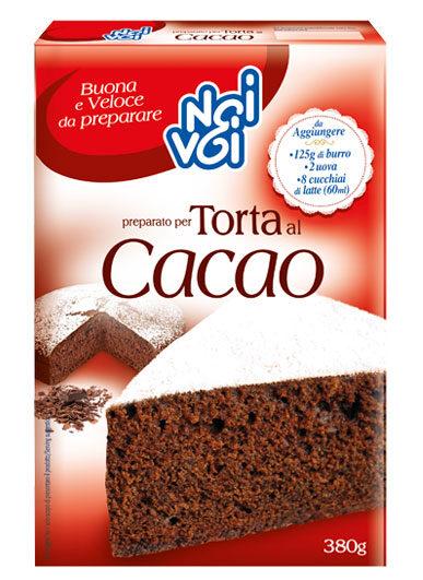 Preparato Torta al Cacao 380 g