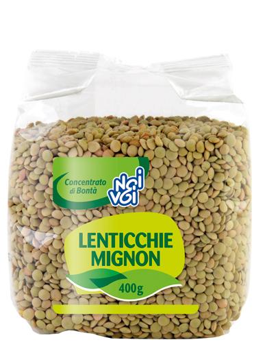 Lenticchie mignon secche 400g