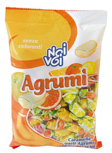 caramelle gusti Agrumi dure ripiene 500 g