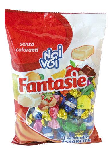 Fantasie caramelle ripiene ai gusti assortiti 500 g