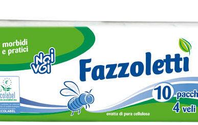 Ecolabel Fazzoletti 4 veli 10 pz