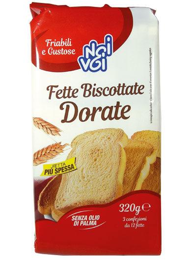 Fette Biscottate Dorate 320 g