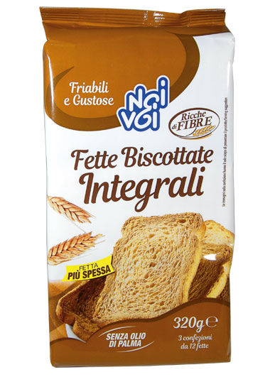 Fette Biscottate Integrali 320 g