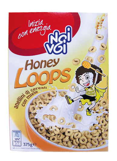 Honey Loops 375 g