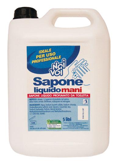 Sapone liquido mani 5 L