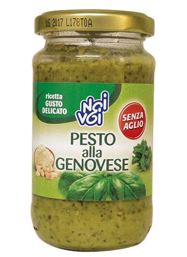 Pesto alla Genovese senza aglio 190g