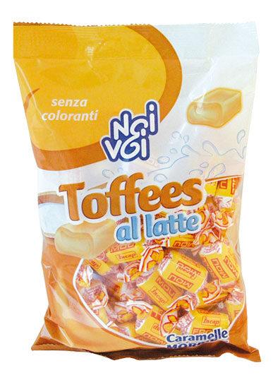 Toffees al latte caramelle morbide 500 g