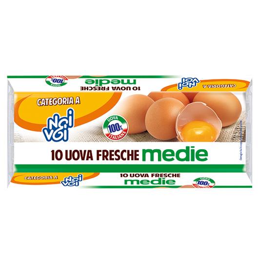 10 Uova M Gabbia