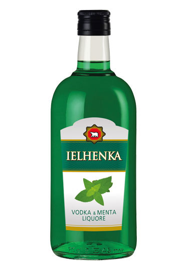 Ielhenka Vodka & Menta 70 cl