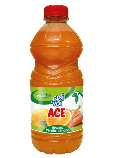 ACE arancia – carota – limone 1000 ml