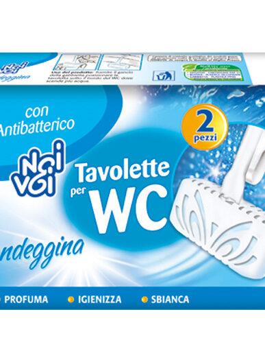 Tavolette per WC con Candeggina 2 x 40 g