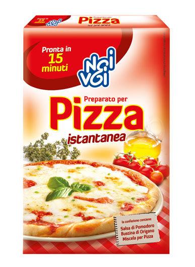 Preparato per Pizza istantanea 450 g