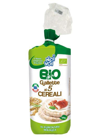 Gallette ai 5 Cereali BIO 130 g