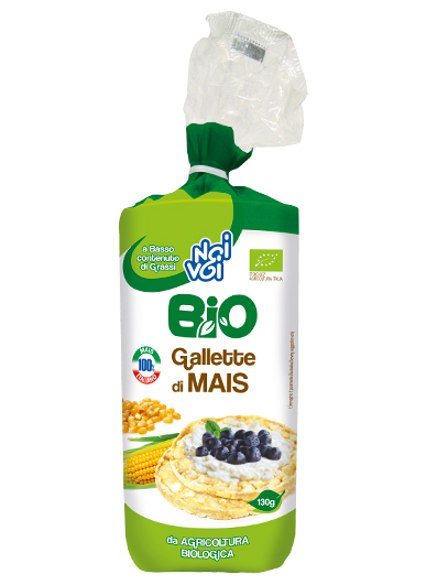 Gallette di Mais BIO 130 g