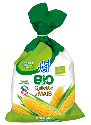 Gallette di Mais sfuse BIO 130 g