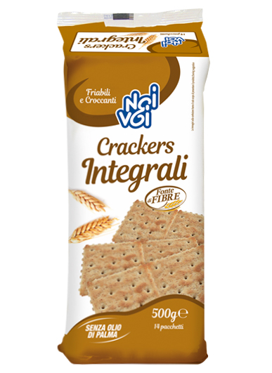 Crackers Integrali 500 g