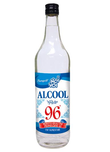 Alcool 96° puro 100cl