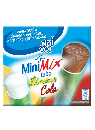 Mini Mix tubo Limone Cola 280 g