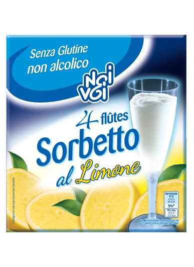 Sorbetto flutes al Limone 260 g
