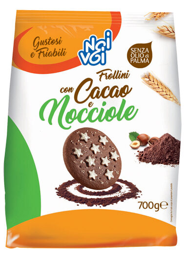 Frollini con Cacao e Nocciole 700g
