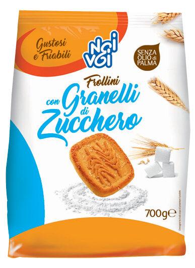 Frollini con Granelli di Zucchero 700g