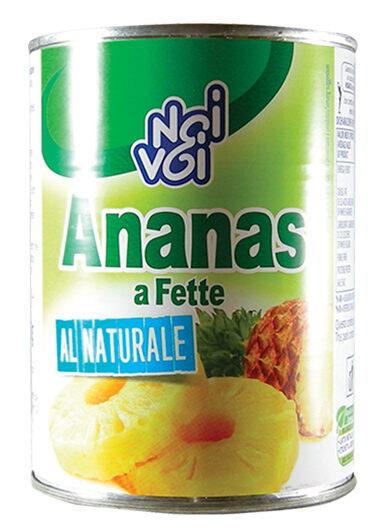 Ananas a fette al naturale 560 g