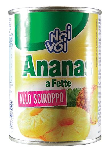 Ananas a fette allo Sciroppo 560 g