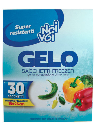 Gelo 30 sacchetti freezer f.to Piccolo