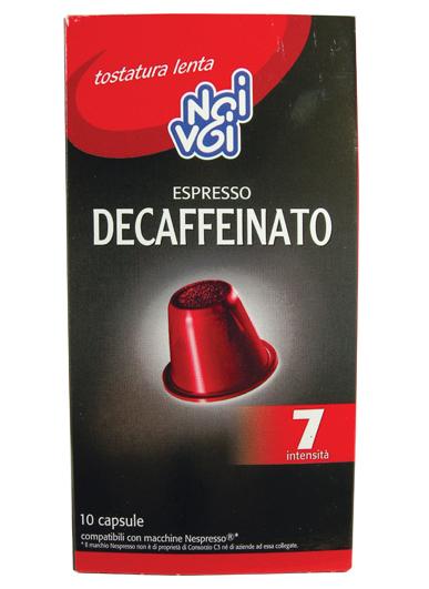 Capsule Decaffeinato