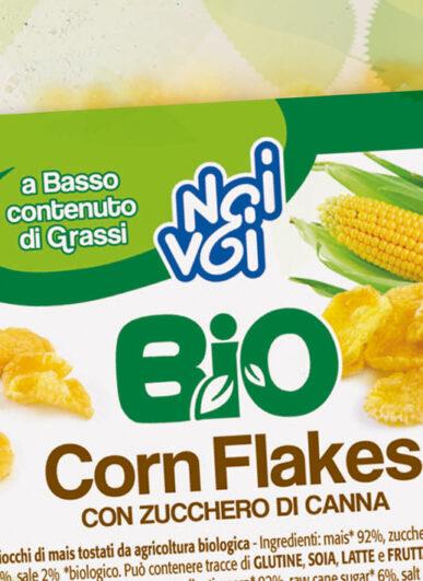 Corn Flakes con zucchero di canna BIO 220 g