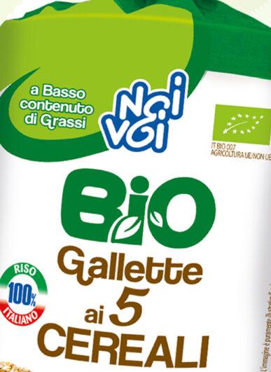 Gallette 5 cereali 130g