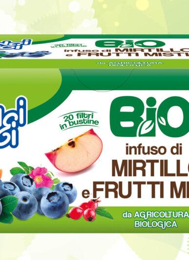 Infuso di Mirtillo e Frutti misti 40g