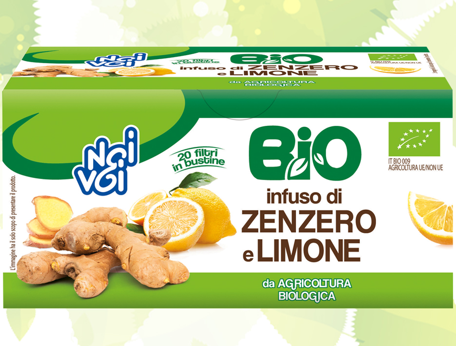 Infuso di Zenzero e Limone 36g