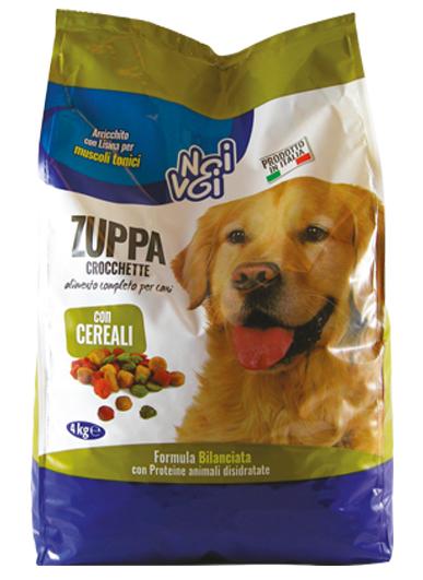 Zuppa Crocchette con Cereali 4 kg